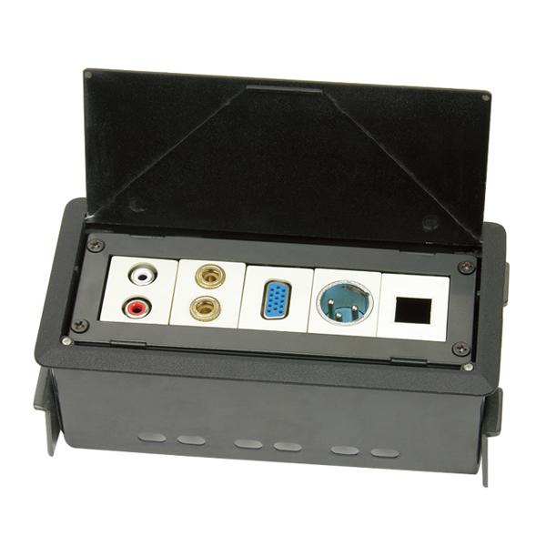 隐藏式桌面插座