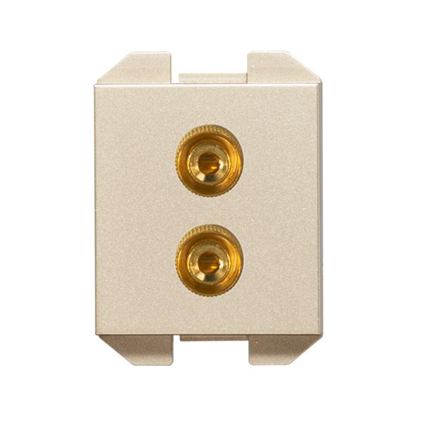 维能 C8 一位音响插座功能件