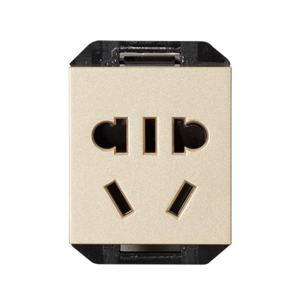维能 C8 二三极插座功能件
