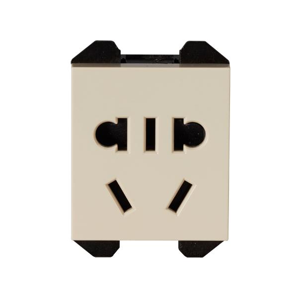 维能 C6 二三极插座功能件