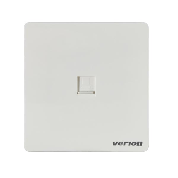 维能 A6白 单电脑插座