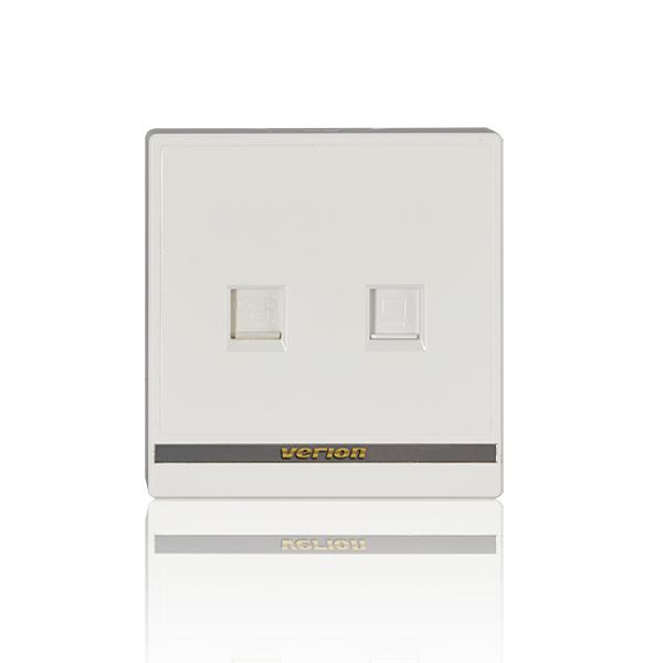 维能 M8 电话电脑插座