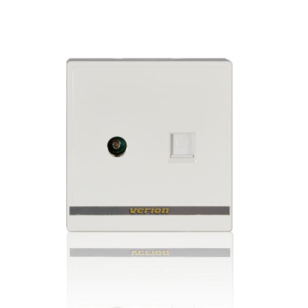 维能 M8 电视电脑插座