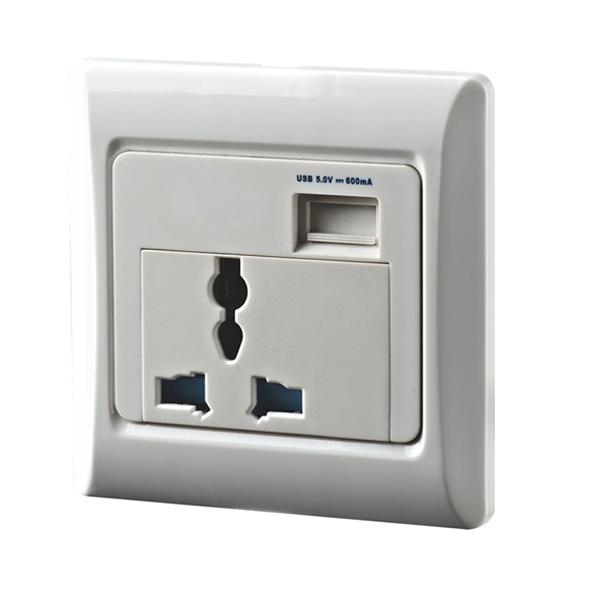 维能 工程 USB充电插座