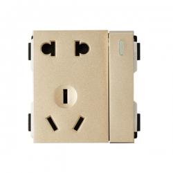 维能 A80 一位双控开关二三极插座功能件