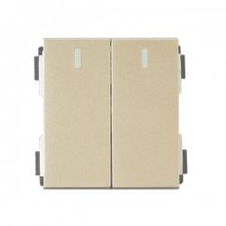 维能 A80 二位大跷板单控开关功能件
